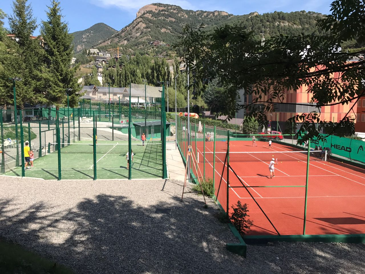 Club de tennis I padel la massana
