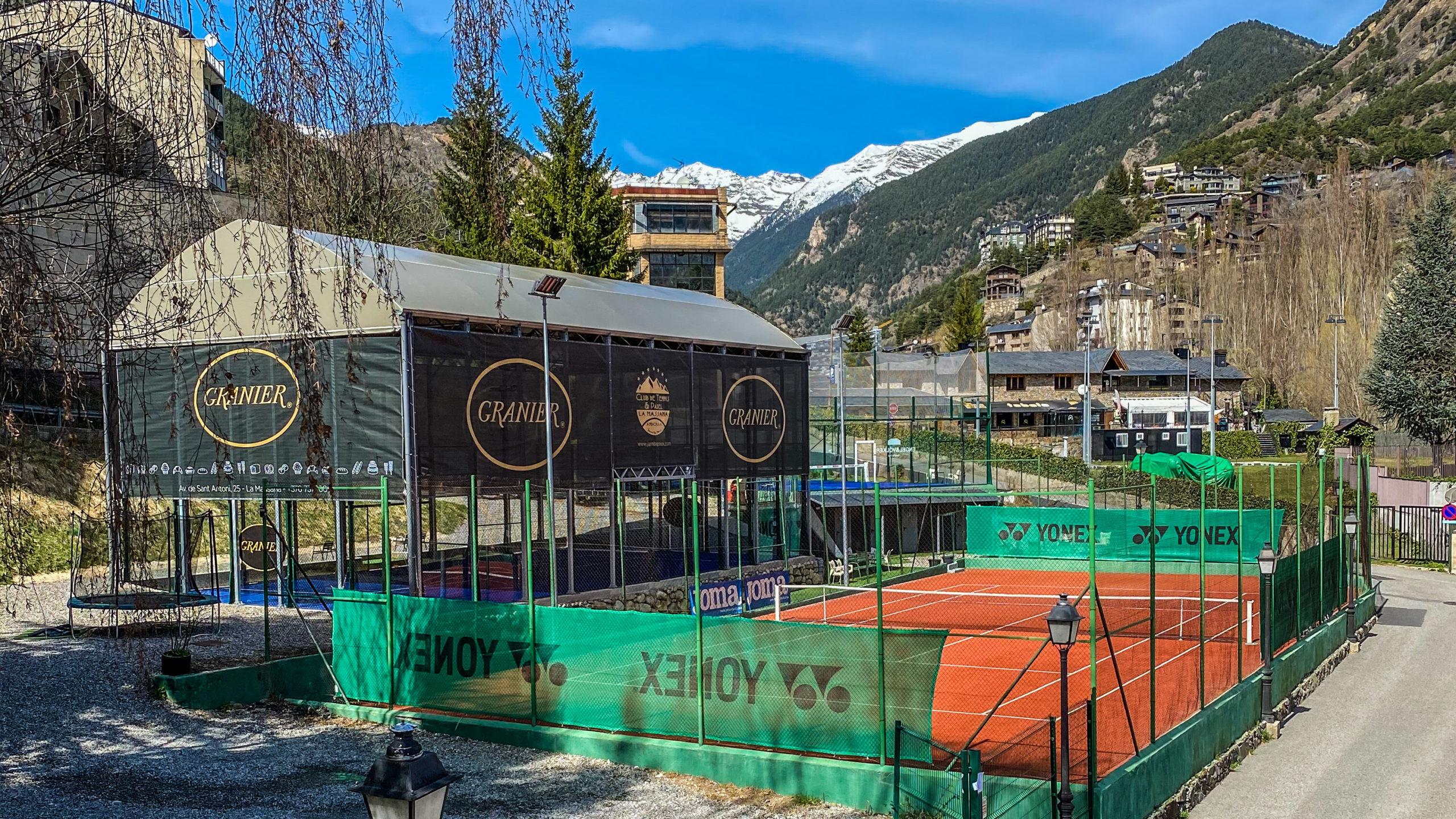 Club Escola Tennis Pàdel La Massana ANDORRA